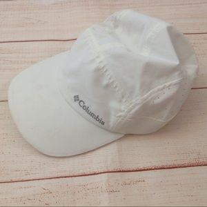 Columbia Sportswear White Baseball Cap Hat